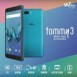 Wiko Tommy3  (ASIA) マレーシアで発売、5.45インチ縦長ディスプレイ、価格は約9千円