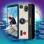 Polaroid Cosmo K2 Plus 海外で発売、5.7インチのスマートフォン、ポラロイドカメラ風ケース付属