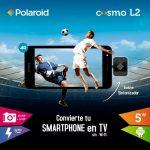 Polaroid Cosmo L2 海外で発表、TVチューナー付属のエントリースマートフォン