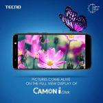 TECNO Camon iClick 海外で発売、6インチHD+(1440×720)ディスプレイのファブレット