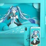 「Xiaomi Mi 6X 初音ミク限定セット」中国で発売、モバイルバッテリーやスマホケースが同梱、価格は約3.5万円