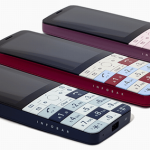 au 携帯電話「INFOBAR xv」を2018年秋に発売、フレームレステンキー・3.1インチディスプレイ