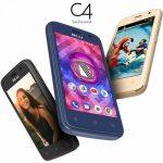 BLU C4 発表、小型4インチサイズのAndroid GO Editionスマートフォン