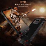 DOOGEE S70 発表、MediaTek Helio P23搭載で5.99インチサイズのタフネススマートフォン