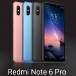 Xiaomi Redmi Note 6 Pro 発表、前後にデュアルカメラ・6.26インチ・SDM636のファブレット