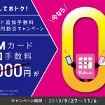 IIJmio SIMカード手数料2,000円割引キャンペーン開始、OPPO R15 Pro発売【格安SIM】