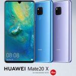 7.2インチ大画面「HUAWEI Mate 20 X」発表、トリプルカメラ・Kirin 980搭載の大型ファブレット