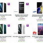 エクスパンシスで海外版 Xperia XZ3、Xperia XA2 Plus、Galaxy Note9 などのセール