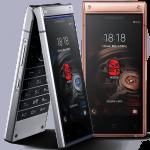折り畳み式のプレミアムスマホ Samsung W2019 発表。4.2インチ×2ディスプレイで価格は約31万円