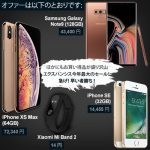 EXPANSYS、Galaxy Note9・iPhone XS Max・iPhone SE・Mi Band2が半額のブラックフライデーセール開催中