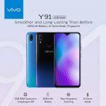 6.22インチの「vivo Y91」発表、Snapdragon 439・指紋認証センサー搭載