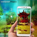 Coolpad Mega 5 発表、5.7インチ・MediaTek MT6739搭載のスマートフォン