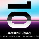 Samsung 2019年2月20日に「Galaxy UNPACKED 2019」開催、Galaxy S10や折り畳みスマホ発表の可能性